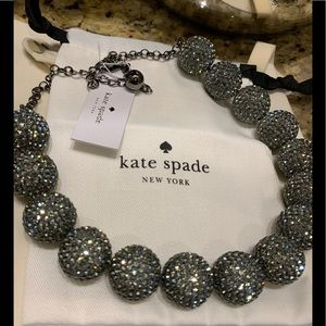 Kate Spade! Pave Sphere Statement Necklace!